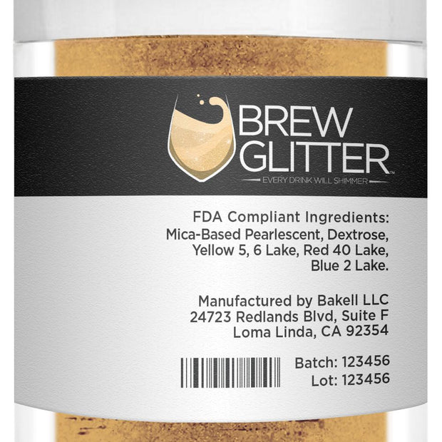 Gold Brew Glitter by the Case