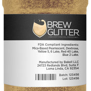 Gold Brew Glitter | Iced Tea Glitter