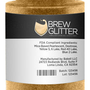 Gold Brew Glitter Spray Pump by the Case