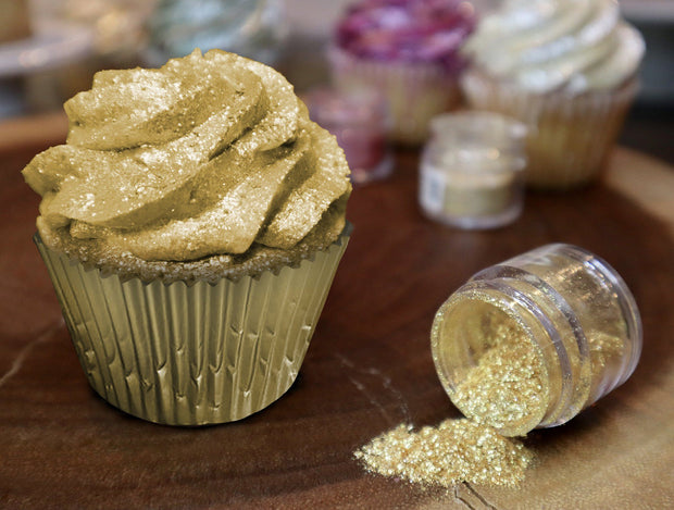 Gold Tinker Dust | Edible Food & Garnish Glitter