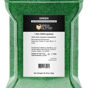 Green Brew Glitter | Food Grade Beverage Glitter