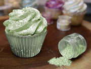 Leaf Green Tinker Dust | Edible Food & Garnish Glitter