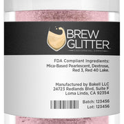 Light Pink Brew Glitter by the Case