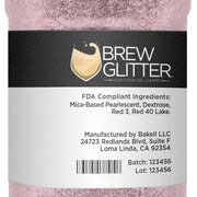 Light Pink Brew Glitter | Coffee & Latte Glitter
