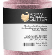 Light Pink Brew Glitter Spray Pump by the Case