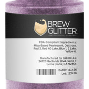 Light Purple Edible Glitter Spray Pump for Drinks