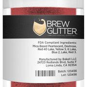 Maroon Brew Glitter by the Case