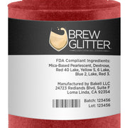 Maroon Red Brew Glitter Spray Pump by the Case