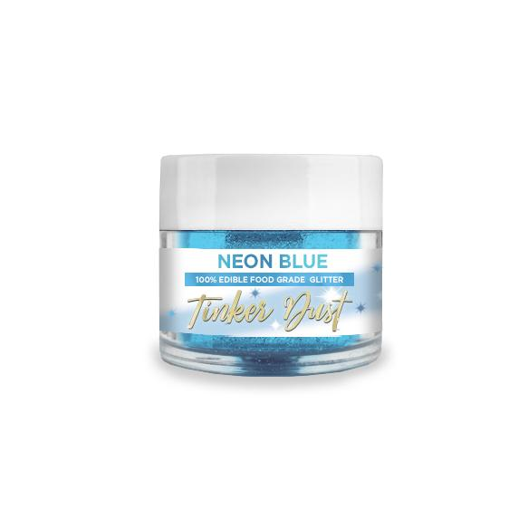 Neon Blue Edible Glitter Tinker Dust | 5 Gram Jar