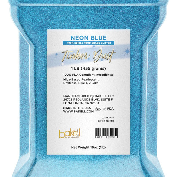 Neon Blue Tinker Dust by the Case