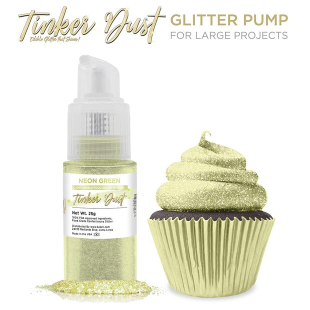 Neon Green Tinker Dust Spray Pump by the Case