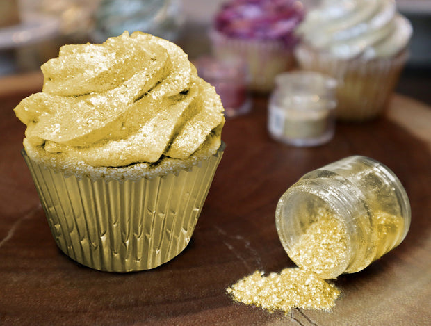 Neon Yellow Tinker Dust | Edible Food & Garnish Glitter