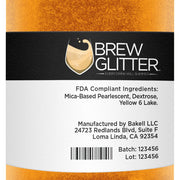 Orange Brew Glitter | Wine & Champagne Glitter