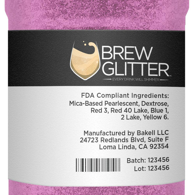 Pink Brew Glitter by the Case