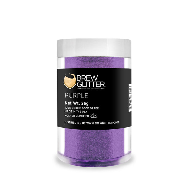 Purple Brew Glitter | Edible Glitter for Sports Drinks & Energy Drinks