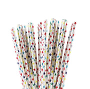 Rainbow Stars Stirring Straws