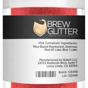 Red Brew Glitter by the Case