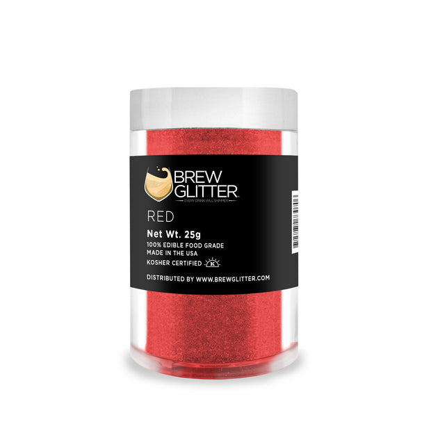 Red Brew Glitter | Coffee & Latte Glitter