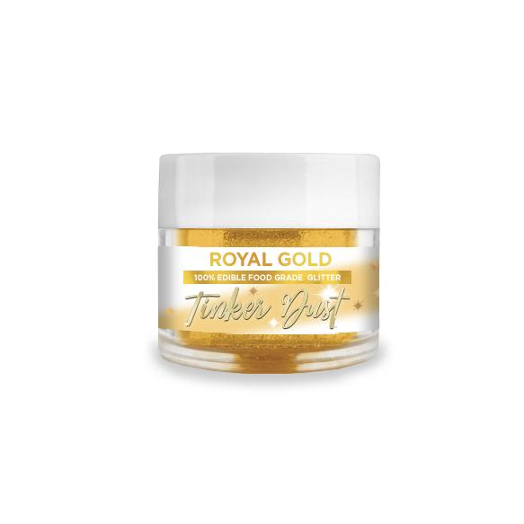 Royal Gold Edible Glitter Tinker Dust | 5 Gram Jar