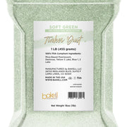 Soft Green Tinker Dust Edible Glitter | Food Grade Glitter