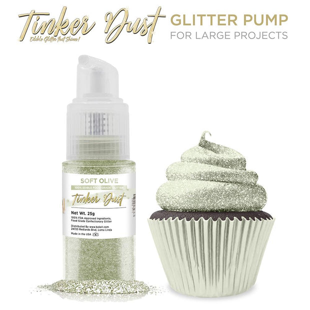 Soft Olive Green Tinker Dust Spray Pump by the Case