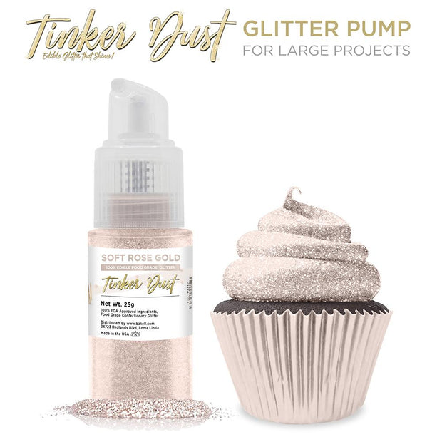 Soft Rose Gold Tinker Dust Spray Pump by the Case
