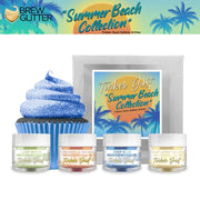 Summer Beach Tinker Dust Edible Glitter Combo Pack (4 PC)