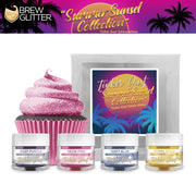 Summer Sunset Tinker Dust Edible Glitter Combo Pack (4 PC)