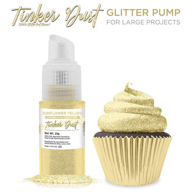 Sunflower Yellow Tinker Dust Spray Pump by the Case