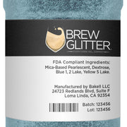 Teal Brew Glitter by the Case