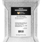 White Brew Glitter | Bulk Sizes