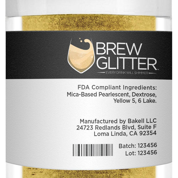 Yellow Brew Glitter | Bulk Sizes