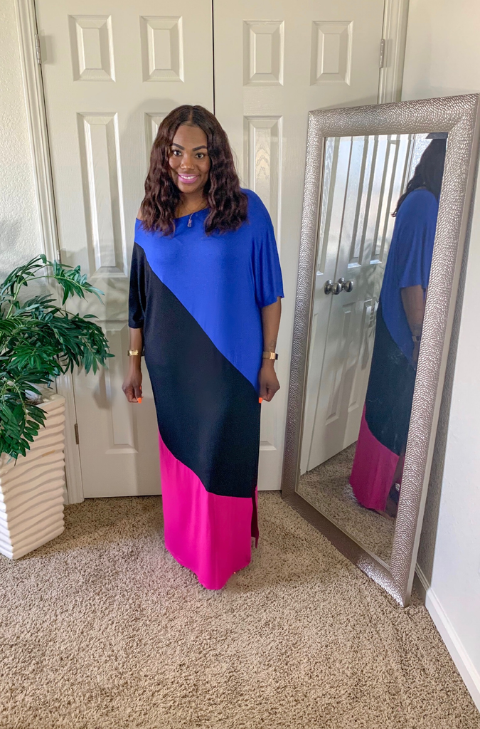 Tami Colorblock Maxi