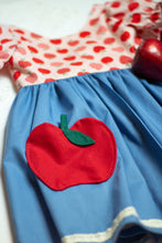 Load image into Gallery viewer, Back to School Apple Dress