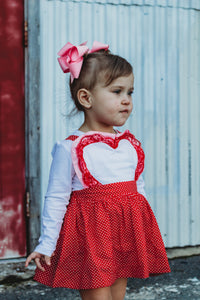{Heart Pinafore}