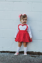 Load image into Gallery viewer, {Heart Pinafore}
