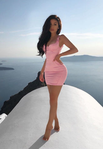 Women's Sheath Dress Bodycon Elastic Sexy Elegant Party Events Party, Dress, LE STYLE DE PARIS, LE STYLE DE PARIS