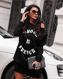 Sweater Woman Dress Sweatshirt Print, Pullover, LE STYLE DE PARIS, LE STYLE DE PARIS