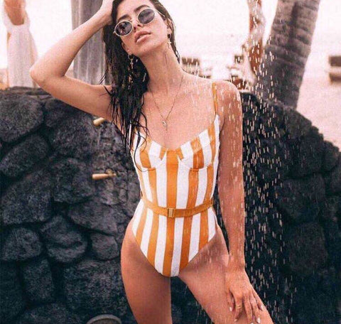 Costume Donna Intero Moda Mare Piscina Swimwear beachwear, Costume, LE STYLE DE PARIS, LE STYLE DE PARIS