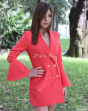 Playsuit Woman Model Jacke Langarmrock, Eleganter Playsuit, LE STYLE DE PARIS, LE STYLE DE PARIS