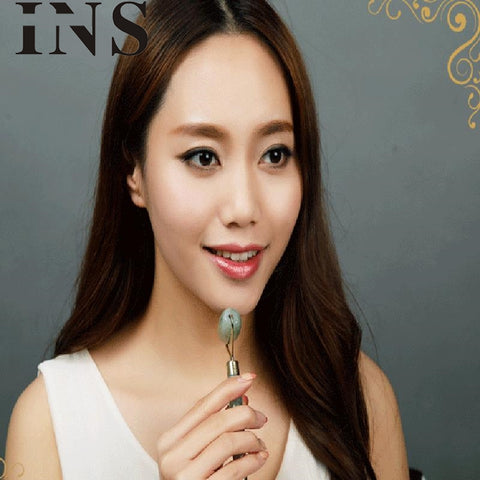 Icy Jade Face Roller - Anti-Aging Device