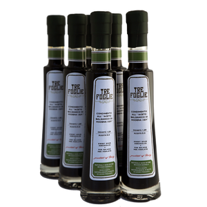 Modena Balsamic Salad Dressing 3.38 Oz (100 ml) Case of 6