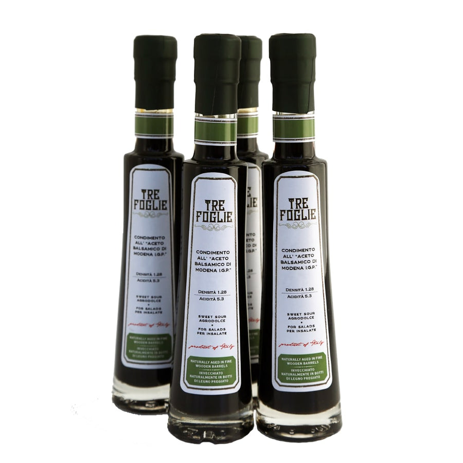 Modena Balsamic Condiment 3.38 oz (100 m) 4-Pack