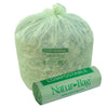 "Compostable Waste Liner Bags 55 gallon 1 Mil, 42""W x 48""H, 100 /case"