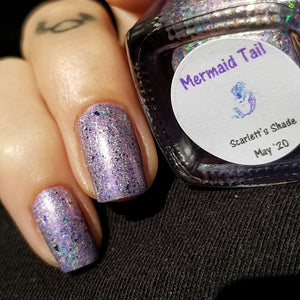 Mermaid Tail: Scarlett's May Shade