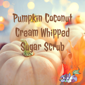 Pumpkin Coconut Cream Whipped Sugar Scrub