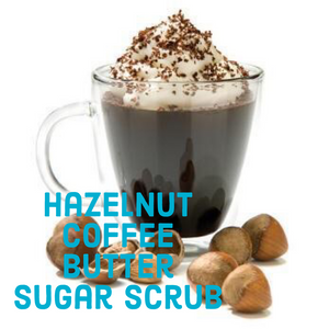 Hazelnut Coffee Butter Sugar Scrub