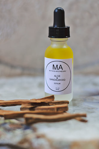 Aloe & Sandalwood Serum