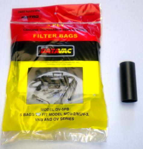 Disposable Bags with Adaptor Tube - DV-5PBA