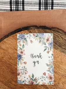"""Thank You"" Card Pack"